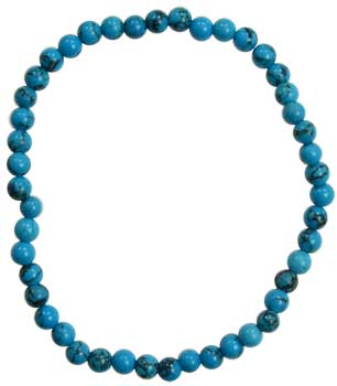 4mm Turquoise Stretch