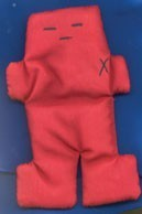 Voodoo Doll Red