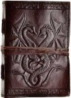 Double Dragon leather w/ cord