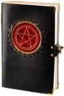 Red Pentagram Leather W/ Latch