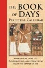 Book Of Days Calendar (Hc)