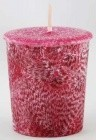 Dragon's Blood Palm Votive(Dark Red)