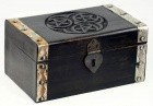 Hecate Triple Pentagram Chest 8""