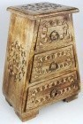 Celtic Wooden  Cupboard 11""