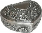 "2"" Heart Pewter"