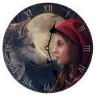 Moon Struck Clock 11 1/2""