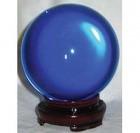 80mm Blue Crystal Ball