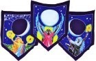 Triple Moon Goddess Prayer Flags