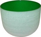 "8"" Green Crystal Singing Bowl"
