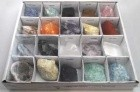 Flat Of 20 Stones & Crystals
