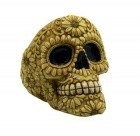 Bone Skull Ashtray