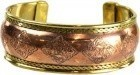 Celtic Engraved Copper And Brass