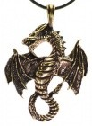 Bronze Celtic Dragon
