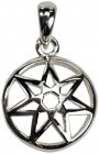 Seven-Pointed Fairy Star Sterling