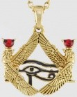 Isis Framed Eye Of Horus