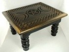 "Triple Moon Altar Table 14"" X 11"" X 8"""