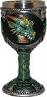 "5"" Green Dragon Chalice"