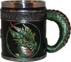 "4 1/4"" Green Dragon Mug"