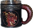 "4 1/4"" Red Dragon Mug"