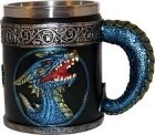 "4 1/4"" Blue Dragon Mug"