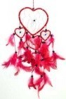 "4 1/2"" Hearts Dream Catcher"