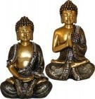 "6"" Buddha Gold (Set Of 2)"