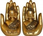"7"" Buddha Hand (Set Of 2)"