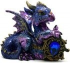 Blue Dragon W/ Stone 4""