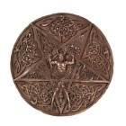 Horned God & Goddess Plaque