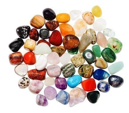 Gemstones Polished mix