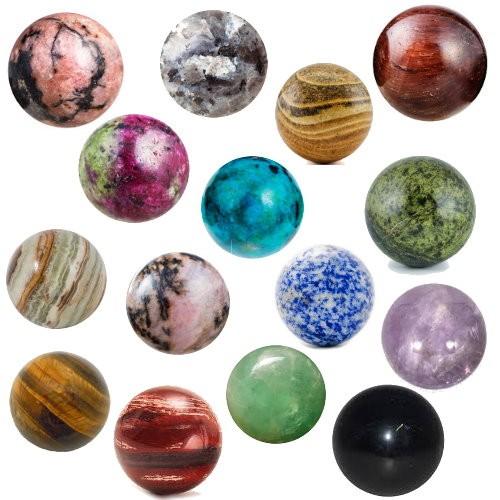 Gemstone Orbs