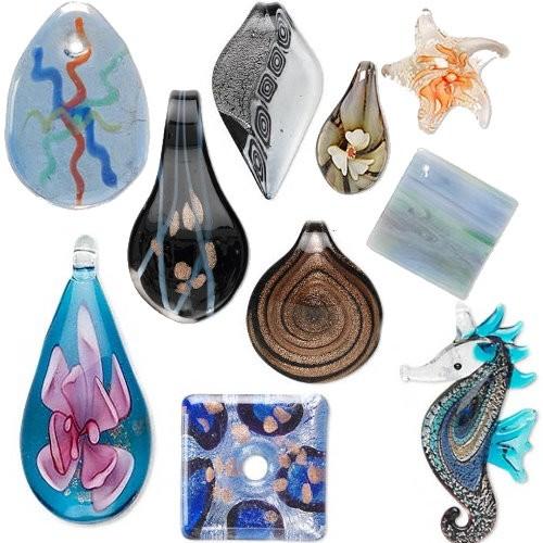 Artisan Glass Pendants